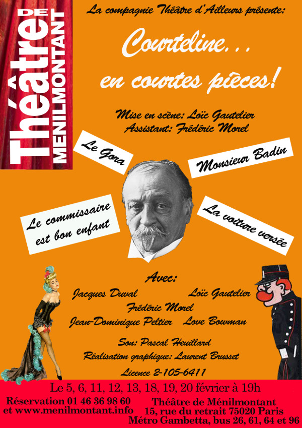 Flyer Théâtre d'Ailleurs, recto